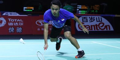 Hasil Hong Kong Open 2019 - Comeback Anthony Pastikan Derbi Indonesia