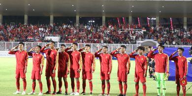 Timnas U-19 Indonesia Ungguli Hong Kong di Babak Pertama
