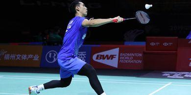 Hong Kong Open 2019 - Lewati Perlawanan Sengit, Jonatan Christie ke Semifinal
