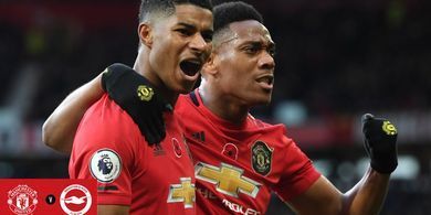 Susunan Pemain Man United Vs Burnley - Anthony Martial Pasti Cetak Gol