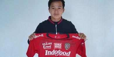 Girangnya Pemuda Pontianak Ini Bermain Setim dengan Stefano Lilipaly di Bali United