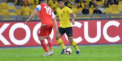 Bintang Malaysia di Laga Kontra Timnas Indonesia Tak Puas dengan Performanya