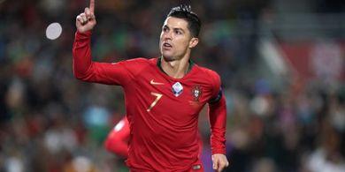Cetak Gol Ke-98 buat Portugal, Cristiano Ronaldo Samai Rekor Tertajam dalam Satu Tahun
