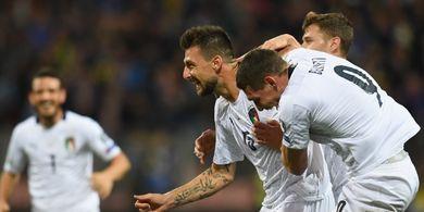 Bosnia Vs Italia - Gli Azzurri Sementara Unggul 2-0 di Babak I