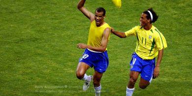 Rivaldo Sedih Kaus Nomor 10 Timnas Brasil Dipakai Gelandang AC Milan