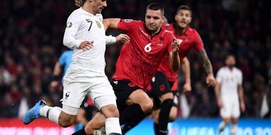 Hasil Kualifikasi Euro 2020 - Atasi Albania, Prancis Sah Juara Grup H