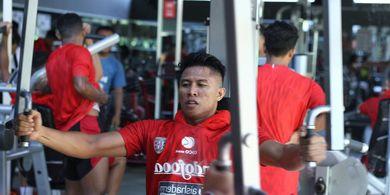 Kabar Terbaru dari Bek Bali United yang Mulai Pulih dari Cedera