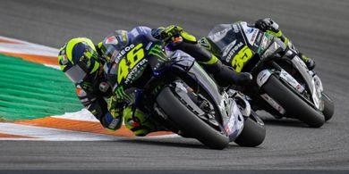 Valentino Rossi Tak Ingin Yamaha Sembunyi di Balik Kesuksesan Quartararo