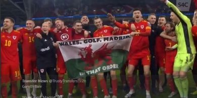 Bawa Wales Lolos, Bale Kibarkan Bendera yang Sindir Real Madrid