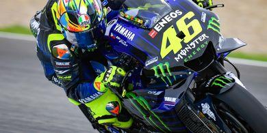 Masuk Tiga Besar Klasemen, Jadi Target Valentino Rossi Musim Depan
