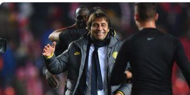 Inter Milan Belum Lolos, Conte Sudah Merasa Bangga dan Puas