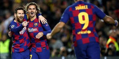 Dianggap Belum Akrab dengan Messi, Griezmann Beri Klarifikasi