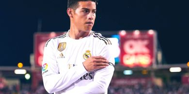 Soal Masa Depan James Rodriguez, Zinedine Zidane Jawab Tak Tahu