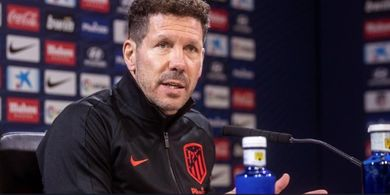 Jika Atletico Madrid Juara Liga Spanyol 2020-2021, Diego Simeone Harus Berterima Kasih kepada Barcelona