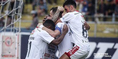Striker Bali United Siap Arungi Jadwal Padat Liga 1 2020