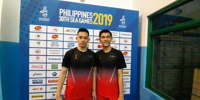 Hasil Bulu Tangkis SEA Games 2019 - Nyaris Paksakan Rubber, Fajar/Rian Tersisih