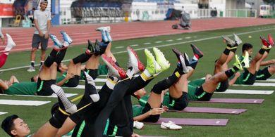 Bersiap Adu Penalti, Pelatih Timnas U-22 Indonesia Beri Latihan Khusus