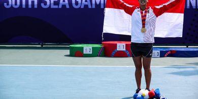 SEA Games 2019 - Aldila Sutjiadi Langsung Fokus ke Final Ganda Campuran Usai Rebut Emas Tunggal  Putri