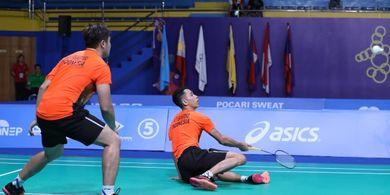 SEA Games 2019 - Gara-gara Angin, Wahyu/Ade Harus Main Tiga Gim