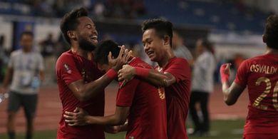 Distribusi Menit Gol Timnas U-22 Indonesia di SEA Games 2019, Ganas di Babak Kedua