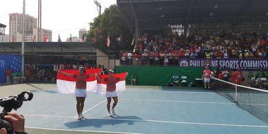 SEA Games 2019 - Jessy/Beatrice Raih Emas Tenis Ganda Putri Pertama Indonesia sejak 2005