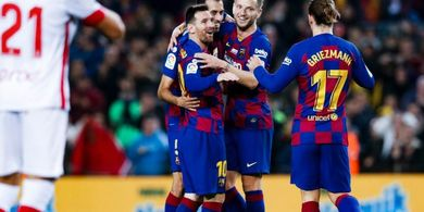 Barcelona Vs Mallorca -  Trio MSG Gemilang, Barcelona Unggul Telak 4-1