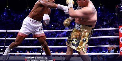 Anthony Joshua Samai Rekor Milik Mike Tyson dan Muhammad Ali