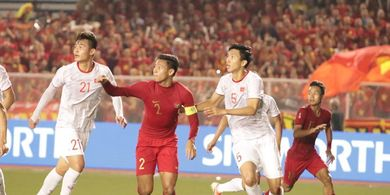 SEA Games 2019 - 3 Kali Timnas U-22 Indonesia 'Ditikam' Vietnam dengan Skema Bola Mati