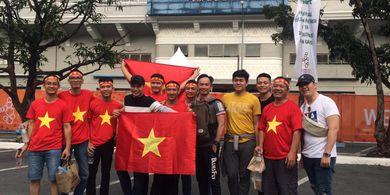Jelang Final SEA Games 2019, Suporter Vietnam Ramai Pendukung Timnas U-22 Indonesia Sepi