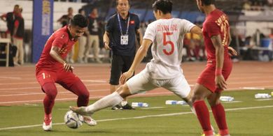 Indra Sjafri Klaim Timnas U-22 Indonesia Tampilkan Pemainan Terbaiknya Lawan Vietnam