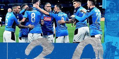 Napoli Vs Genk - Hat-trick Arkadiusz Milik Bawa Partenopei Unggul 3-0