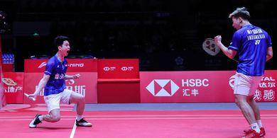 BWF World Tour Finals 2019 - Marcus/Kevin Katakan Ini Soal Kemenangan atas Duo Menara