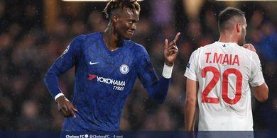 Chelsea Vs Lille - Aksi Tammy Abraham dan Sang Kapten Bawa The Blues Unggul