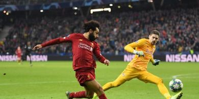 Tak Disangka! Ini Video Gol Gaib Mohammed Salah saat Tumpas Salzburg