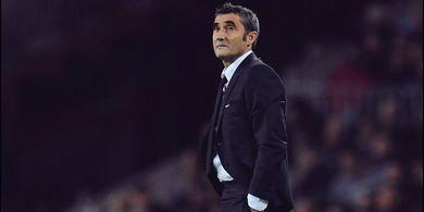 Barcelona-nya Ernesto Valverde Tidak Bisa Pegang Bola