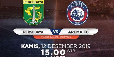Link Live Streaming Persebaya Vs Arema FC, Laga Emosional untuk Aji Santoso