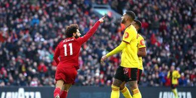 Hasil Liga Inggris - Mohamed Salah Bobol Lawan Favorit, Liverpool Tak Terkalahkan 100 Laga