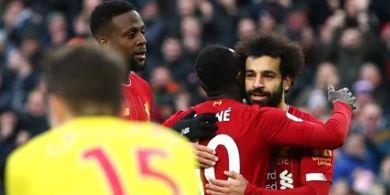 VIDEO - Mohamed Salah Kembali Cetak Gol Ajaib dan Susah, Backheel yang Nutmeg Lawan