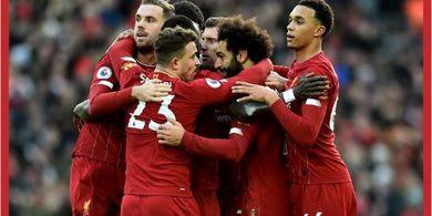 Jawaban Mohamed Salah Usai Cetak Gol untuk Liverpool dengan Kaki Lemahnya