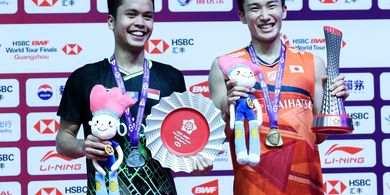 BWF World Tour Finals 2019 - Gagal Tumbangkan Momota, Anthony Ginting Tetap Bersyukur