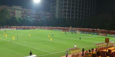 Tiga Pemain Lawan Cedera, Bhayangkara FC Menang Tipis Atas Kalteng Putra