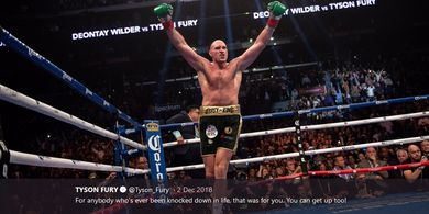 Tyson Fury Klaim Anthony Joshua Takut Dipukul Deontay Wilder