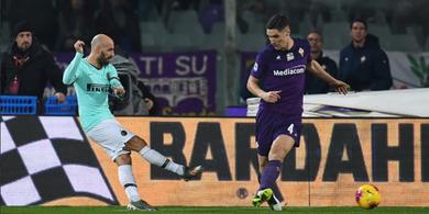 Hasil Liga Italia - Gol Menit Akhir Fiorentina Buyarkan Kemenangasn Inter