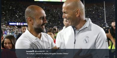 Real Madrid Vs Man City - Zidane Minta Suporter Tak Fokus ke Pelatih