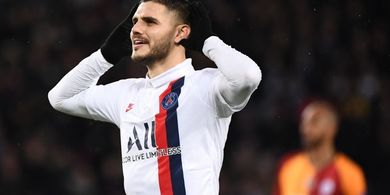 Gara-gara Istri, Icardi Batal Dipermanenkan Paris Saint-Germain?