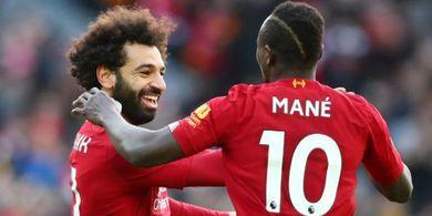 Liverpool Hanya Imbang Lawan Man United, Salah: Itu Karena Saya Cedera