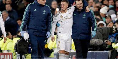 Real Madrid Takkan Percepat Masa Pemulihan Hazard