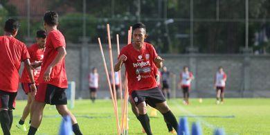 Pandemi Covid-19 Membuat Penyerang Bali United Ini Tak Berani Joging ke Luar Rumah