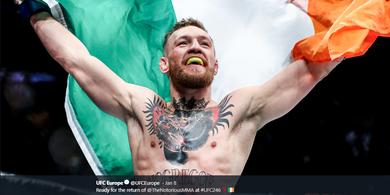 Presiden UFC Sebut Nama Conor McGregor Setara dengan Mike Tyson