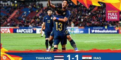 Rekap Piala Asia U-23 2020, Thailand ke Perempat Final, Vietnam Jaga Peluang